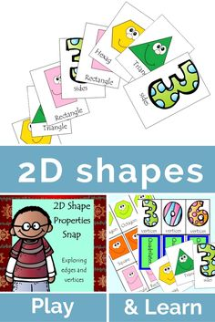FREE 2D Shape property game that focuses on students being able to classify…