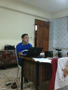 Igson Mendes, dando abertura a reunião.