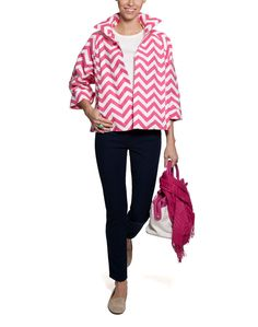 """Have this jacket...hope chevron jackets will still be """"in"""" next spring!!!"""