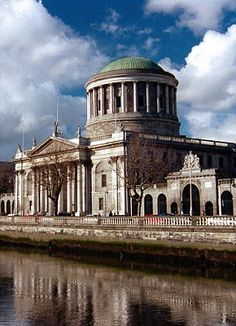 Four Courts, Dublin, Ireland. How many times does one building have to be burnt down?