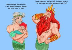 LOL | ariel  | Birth of Ariel by ~DKCissner on deviantART