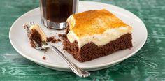 Pečený koláč s pudinkem