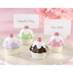 Sweet Surprise Cupcake Place Card Holder
