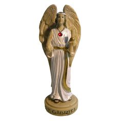 The Archangel Bearer of God's Special Message. Your personal Archangel will cast a protective aura about you and surround you with angelic love. Saint Gabriel, Angel Statues, Archangel, Saints, Princess Zelda, God, Fictional Characters, Dios, Fantasy Characters