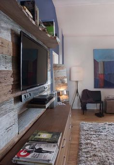 Urban pad mixes rustic-modern with reclaimed pieces
