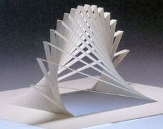 Libros Pop-Up Books Cards: Descarga Gratis Libro Phantastische Papier (Kirigami)… Architecture Pliage, Architecture Origami, Concept Architecture, Pop Up Art, Arte Pop Up, Atelier Theme, Paper Structure, Paper Pop, Cut Paper