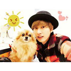Eunhyuk & Choco #eunhyuk #superjunior #choco #kpop