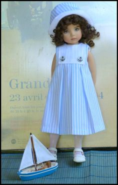 Baby Doll Clothes, Baby Dolls, Cotton Frocks, Nautical Outfits, Effanbee Dolls, Scarlett, Sasha Doll, Wellie Wishers, Child Doll