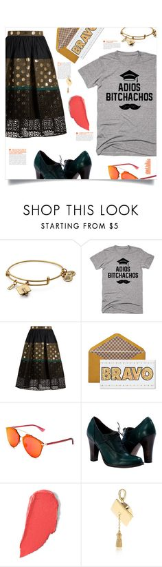 """Graduation Day Style"" by cheryl-82 ❤ liked on Polyvore featuring Alex and Ani, Kolor, Christian Dior, La Prairie, Tiffany & Co. and Graduation"