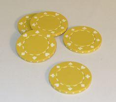 11.5 gram Yellow Poker Chips