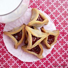 Raspberry Hamantaschen (Grain Dairy Free, GAPS, Paleo) #glutenfree #grainfree #paleo