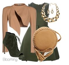 Autumn by agency-blooming on Polyvore featuring polyvore, fashion, style, P.A.R.O.S.H., Thierry Mugler, 424 Fifth, Big Buddha and clothing