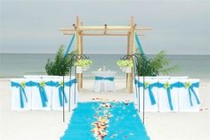 Looking for some beach wedding ceremony decorations? Ideas for great gazebos, and aisle ideas from real weddings! Wedding Backdrop Design, Wedding Canopy, Beach Wedding Favors, Wedding Ceremony Decorations, Wedding Ideas, Destination Wedding, Wedding Table, Diy Wedding, Wedding Styles