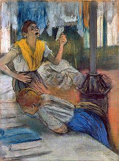 Reading and Art: Edgar Degas