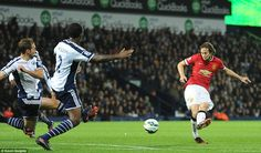 Daley Blind spared Manchester United's blushes with a late equaliser to earn his side a point against West Brom