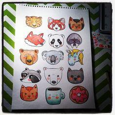 Cute Animal Faces!