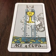 "Hello my loves!  I pulled the Ace of Cups for you today.  The first thing I thought when I saw this card was ""feelings are gifts"". So much wisdom in that whisper from spirit. Feelings and emotions are indeed gifts. We have these gifts to help guide us in our lives. They let us know when we are loved. The warn us when danger or a bad situation is near. They lead us to personal fulfilment compassion for others and the desire to be close to an other person.  Our emotions give us so much. Let's…"