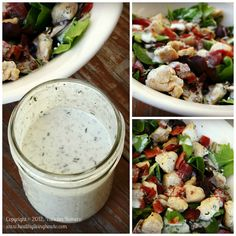 """Ranch dressing - almost everyone loves it, but today's grocery store version is loaded with all kinds of """"bad for you"""" stuff.  But this version is delicious and nutritious, and dairy-free!"""