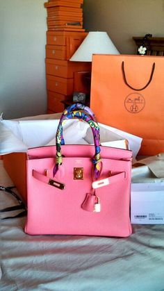 e9ee98a3383 pink hermes birkin bag ebay Luxury Bags
