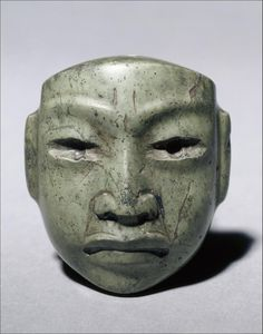 Olmec Jade Mask.
