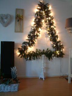 Platte kerstboom december 2011