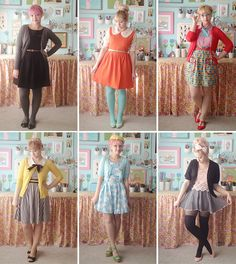 Sweet outfits - ModCloth Blogger of the Moment: Scathingly Brilliant