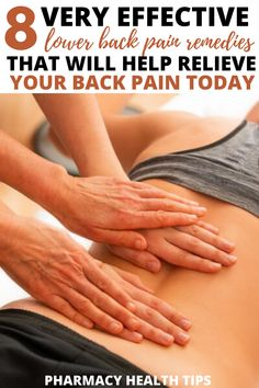 WOW! I was looking around the internet for how to relieve my back pain and these lower back pain relief remedies really helped! It makes me so happy to be able to do normal activities again. Mid Back Pain, Severe Lower Back Pain, Lower Back Pain Relief, Upper Back Pain, Lower Back Pain Remedies, Back Pain Exercises, Yoga Poses For Men, Herbal Medicine, Pharmacy