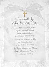 religious wedding invitations