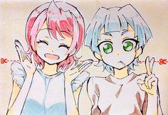 Yuzu and Sora