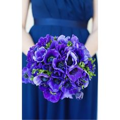 Gorgeous mix of purples and blues. Looks like a match for any season!