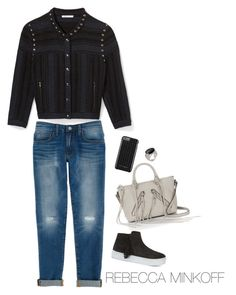 """""""What to wear to the RM x Polyvore meetup on 11/9"""" by rebeccaminkoff ❤ liked on Polyvore featuring Rebecca Minkoff and RMSF"""