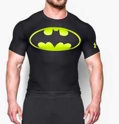 Maillot Under Armour® Transform Yourself Batman Compression pour homme ·  Black batmanBatman 2Graphic ShirtsTee ... 9245a1509fc8
