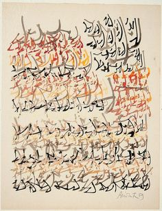 """last-picture-show: """" Brion Gysin, Calligraphy, 1959 """" Typography Love, Writing Art, Found Art, Bear Art, Art For Art Sake, Art Techniques, Picture Show, Hand Lettering, Photo Art"""