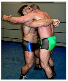 Bearhug gay submission wrestling