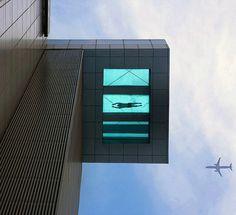 Glass Bottom Pool - The Holiday Inn Shanghai