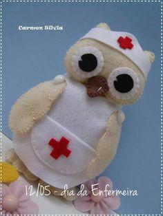 Felt Owl Nurse   * No instructions available.