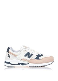 new balance - baskets 996 en cuir beige
