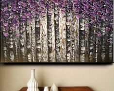 Abstract Texture Large Oil Impasto Painting Original Modern
