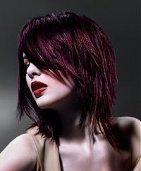 medium razored hair styles love this. Think I found my next look. 2015 Hairstyles, Long Bob Hairstyles, Popular Hairstyles, Pink Hairstyles, Hairstyles Videos, Trendy Hairstyles, Asymmetrical Hairstyles, Layered Haircuts, Razored Hair