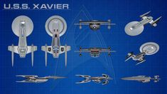 USS Excelsior Study Model (USS Xavier) Orthos by calamitySi on DeviantArt