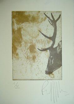 Herteman original etchings with 2 plates