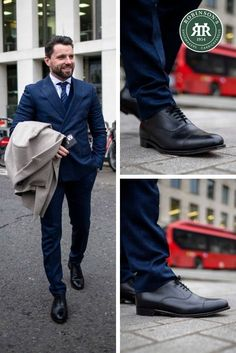 Impress at work or your next special occasion in the Robinson Antrim, a sleek and sophisticated Oxford shoe from our Professional Collection. Also available in chestnut or bronzed espresso calf. #robinsonsshoes #robinsonantrim #businessshoes #blackoxfordshoes Classic Leather, Leather And Lace, Calf Leather, Men S Shoes, New Shoes, Business Shoes, Shoe Tree, Goodyear Welt, Types Of Shoes