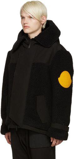 Moncler O - Black Trebeurden Coat