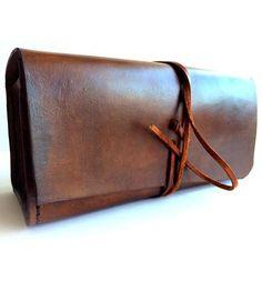 Velotcette Leather Dopp Kit | beautifully handmade #dopp #kit #menstyle #bag