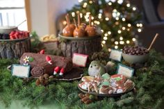 Sweet Table from a Woodland Baby Shower via Kara's Party Ideas… Baby Shower Cakes, Décoration Baby Shower, Baby Girl Shower Themes, Baby Shower Favors, Baby Shower Decorations, Baby Showers, Shower Gifts, Food Themes, Food Ideas