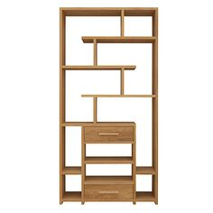 Buy John Lewis & Partners Henry 2 Drawer Bookcase from our Bookcases, Shelving Units & Shelves range at John Lewis & Partners. Bookshelves In Bedroom, Bookcase, Dining Room Furniture, Furniture Making, Flat Ideas, Colored Highlights, Shelf Design, Drawer Fronts, Solid Oak