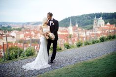 Picture perfect wedding in Prague: Photography : Stepan Vrzala Read More on SMP: http://www.stylemepretty.com/destination-weddings/2016/08/11/destination-wedding-in-prague-yes-please/