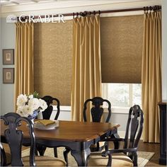 Cordless cellular shades give your windows a sleek look + extra insulation! Find these Graber Light Filtering Shades at Blinds.com.