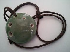 My favorite instrument-6 holes Tenrai ocarina