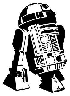 R2-D2 stencil template                                                                                                                                                      More